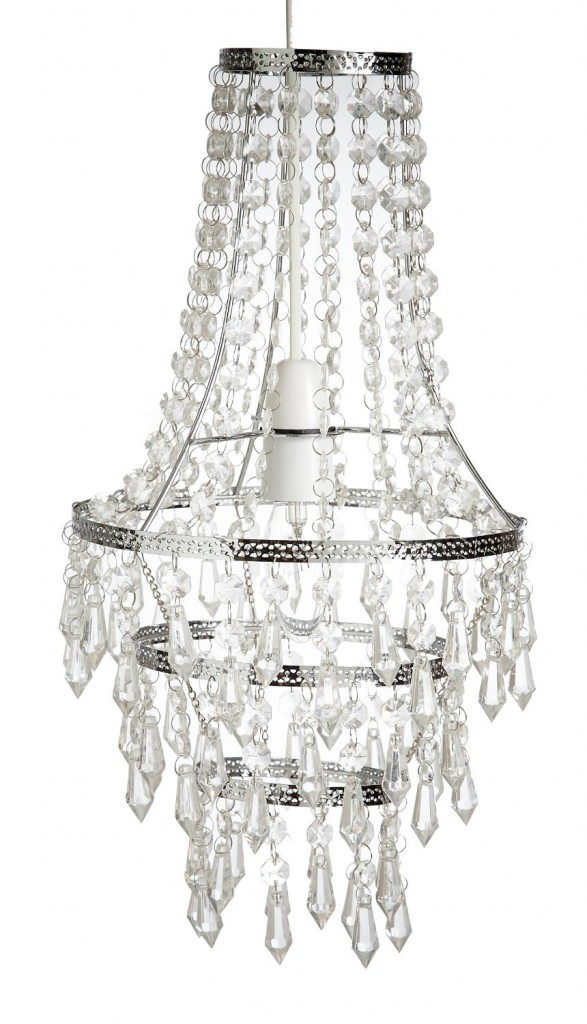 .amazon Lighting Web Co - Lampadario a gocce pendente in vetro, colore trasparente 52.47