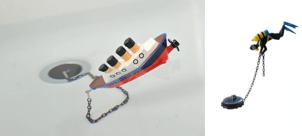 tappo-vasca-barca tubtanic prodotto dall'azienda inglese paladone e distribuito a 12.00 euro dawww.targetregali