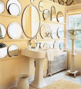 Anche in bagno architettura e design a roma - Specchi bagno roma ...