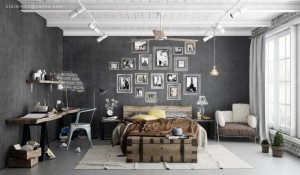 aaaaindustrial-hanging-pendant-lights-and-grey-interior-wall-decor-960x561