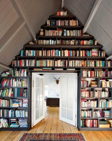 Librerie Componibili Per Mansarda.Mansarda Mon Amour Architettura E Design A Roma