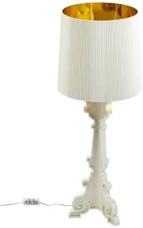 .amazon 236.94 Kartell 907600 Bourgie Lampada , Colore Bianco e Oro