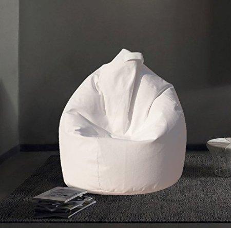 .amazon pouf bianco poltrona a sacco e altri colori