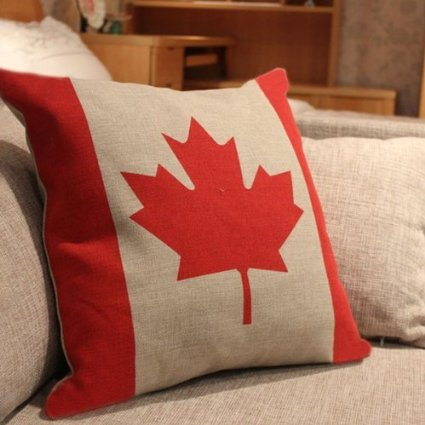 .amazon cuscino con la bandiera del canada di Grimbatol