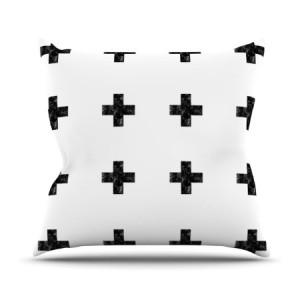 .amazon cuscino svizzera piccole crocette nere