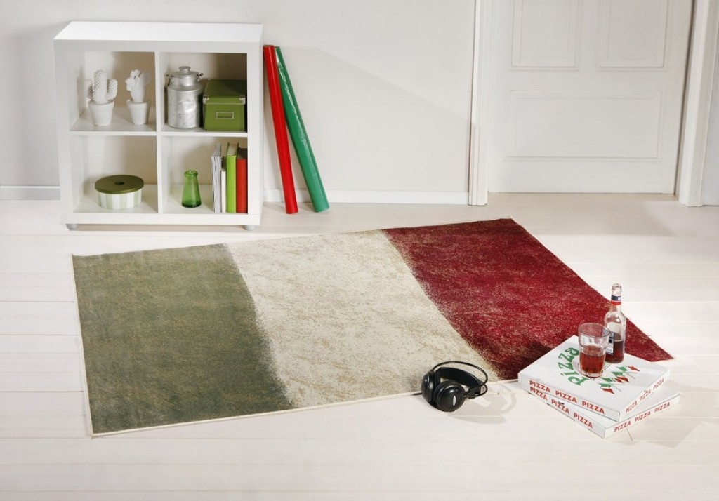 .amazon tappeto di taracarpet a 29.90 Tappeto Bandiera Italia Bella Italia 80x150 cm