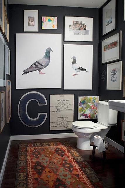 quadri in bagno