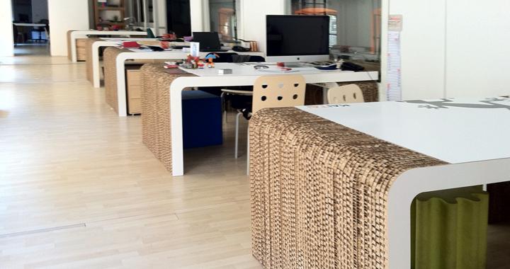 Arredare con il cartone architettura e design a roma for Arredi in cartone