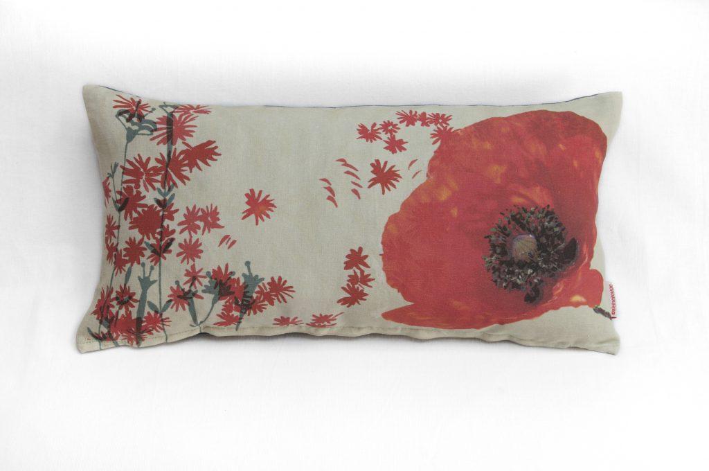 cuscino a fiori