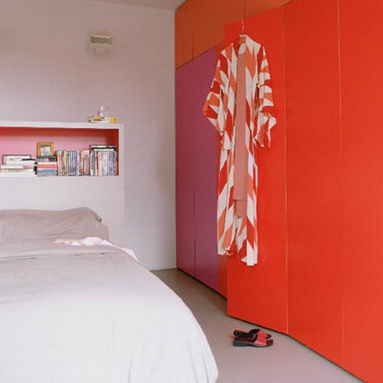 aaaBright-orange-bedroom