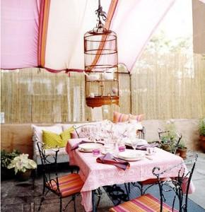 aarancio e rosa esterno