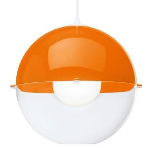 .amazon 47.37 lampadario Koziol Lampadario Sospensione Orion Arancione
