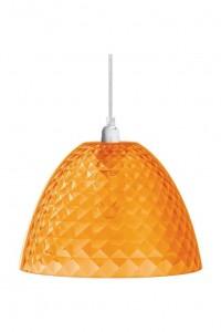 .amazon 52.95 lampadario Koziol Stella S, Lampada Pendente, a Sospensione, Arancione Trasparente, 1943509