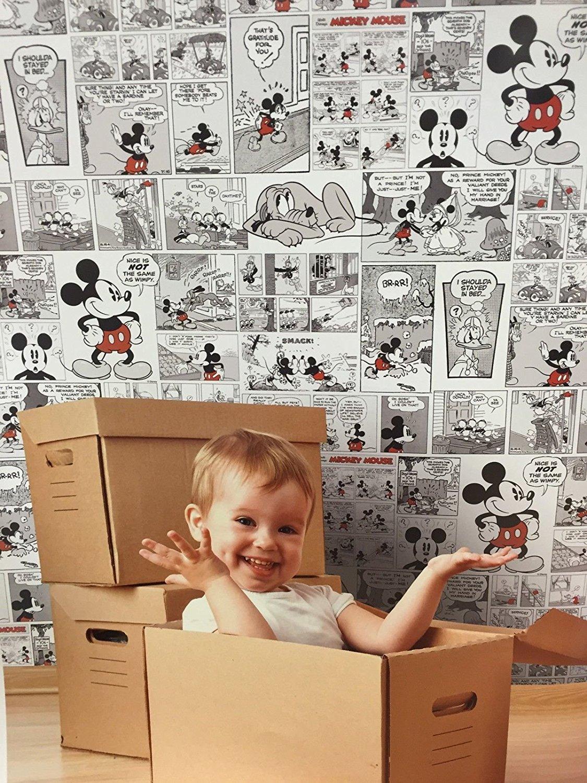 Arredare con i fumetti architettura e design a roma - Carta da parati di design ...