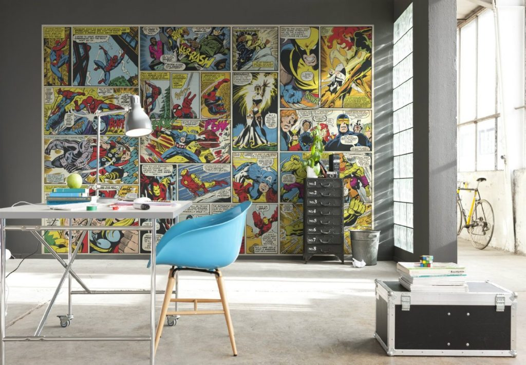 amazon-poster-murale-gigantografia-stampa-digitale-in-alta-risoluzione-komar-su-carta-marvel-comic-heroes-mis-368x254-cm-74e