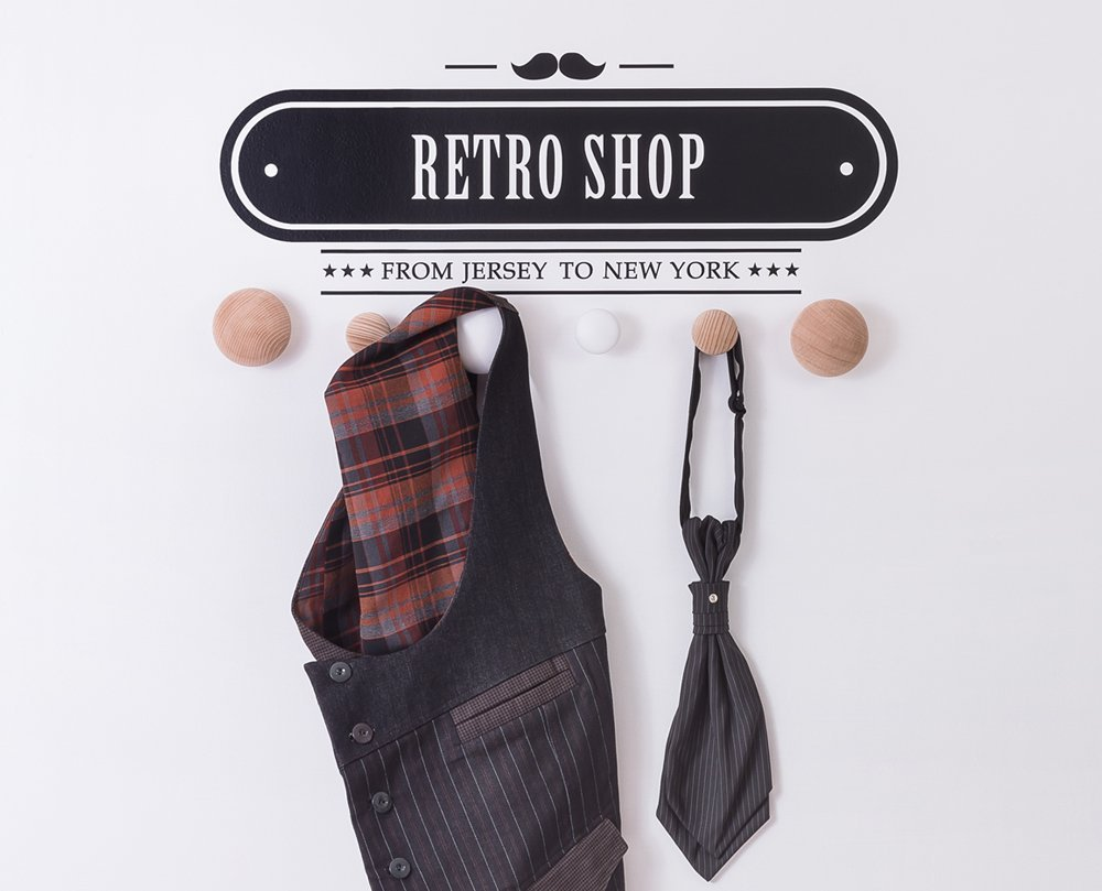 .amazon attaccapanni retro shop