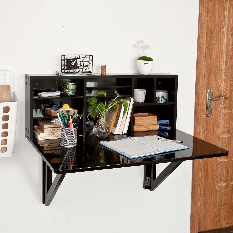 amazon so buy tavolo da muro pieghevole con mensole - Architettura e ...