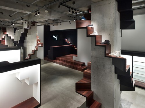 cem STORE DESIGN PUMA HOUSE BY NENDO