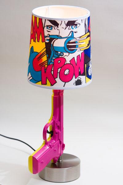 complementi lampada comic pop