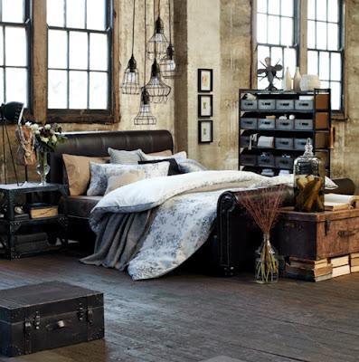 interno camera letto look industrial chic khm-glen-proebstel