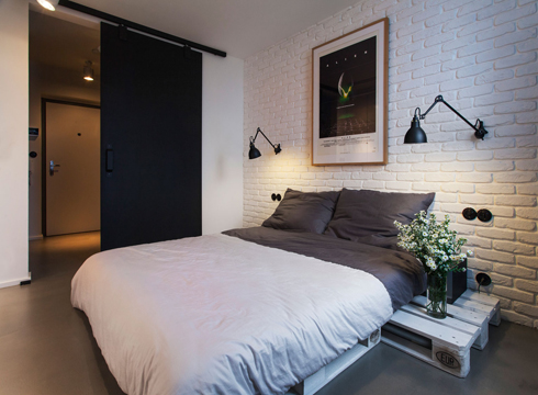 letto wood-pallet-bed-frame