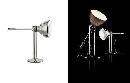 luci Diesel e Foscarini reinterpretano le lampade da officina forme antiche con finiture innovative per effetti inediti
