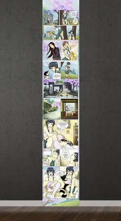 manga Wall Decal Akikasu su www.allposters.it 89.90