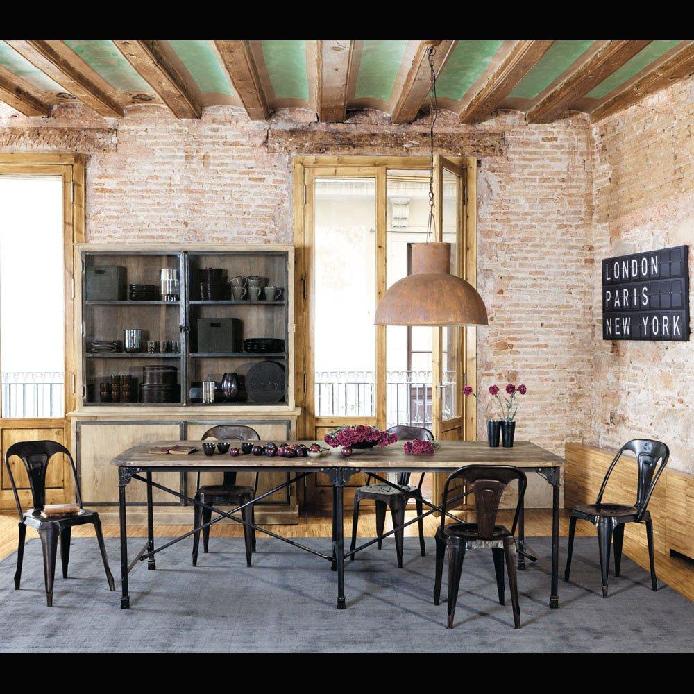 Maison Du Monde Tavoli Da Esterno.Tutto Quello Che Dovete Sapere Per Arredare In Stile Industriale