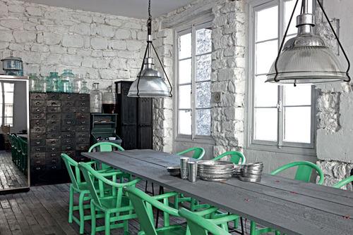 pranzo colore industrial color