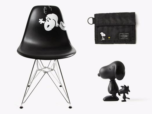 snoopy La collezione di nome Peanuts neri sono in edizione limitata e sono disponibili esclusivamente presso il Dover Street Market di Londr