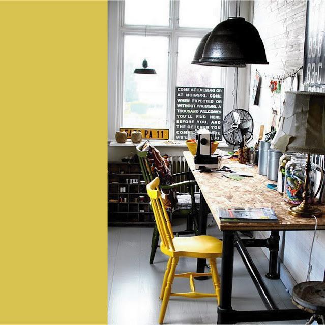 studio boemenienne artistico industriale nero + colre ferro
