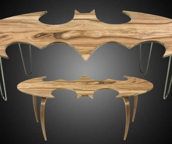 super batman superheroic coffe tables