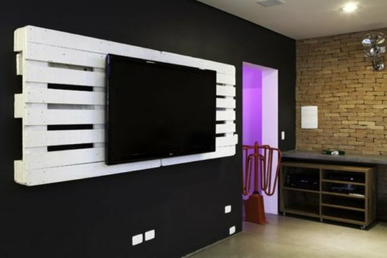 Accessori Porta Tv.Accessori Porta Tv Lcd Plasma Pallet Architettura E Design
