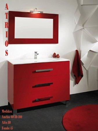 Mobile Bagno Rosso.Amazon Mobile Bagno Rosso Architettura E Design A Roma