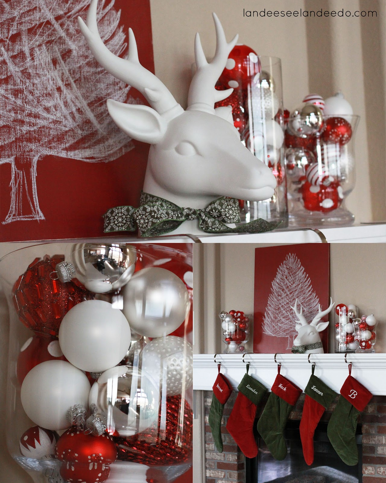 interior-design-ideas-awesome-country-christmas-home-decoration-for-mantel-with-white-silver-and-red-baubles-and-red-green-christmas-stocking-awesome-country-christmas-home-decor