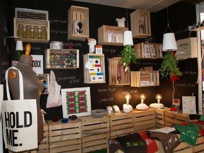 arredare con i pallet e le cassette di legno - architettura e ... - Idee Arredamento Negozio Frutta E Verdura