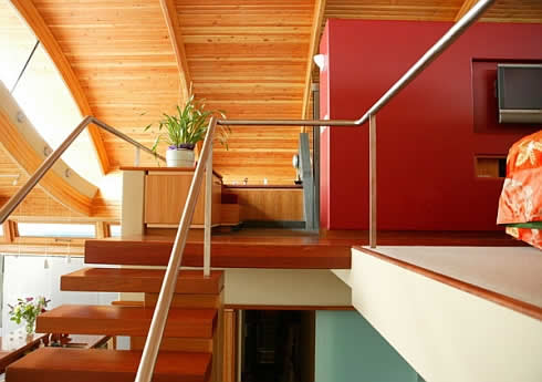 parete red-furnishing-ideas-fennell-residence-1
