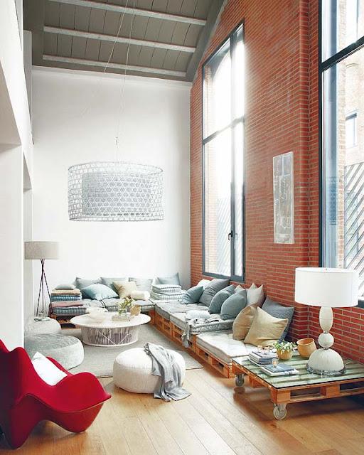 salotto divani pallet-lounge