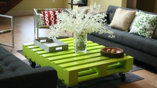 tavolino green-pallet-table