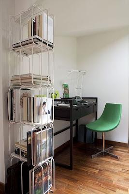 .accessori la libreria delimita lo spazio