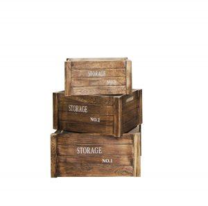 .amazon cassette di legno vintage rebecca srl