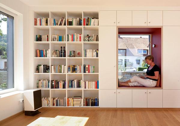 architerttura libreria per vivere tra i libri