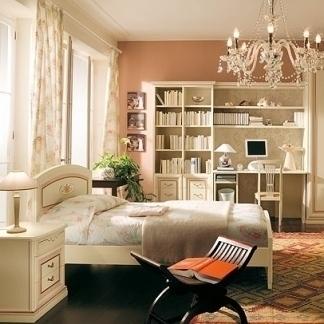 .camera da letto provenzale romantica