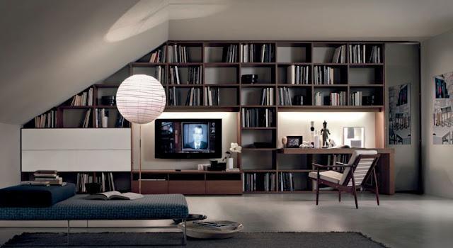 .integrata classico nella libreria