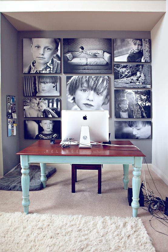 .parete di foto
