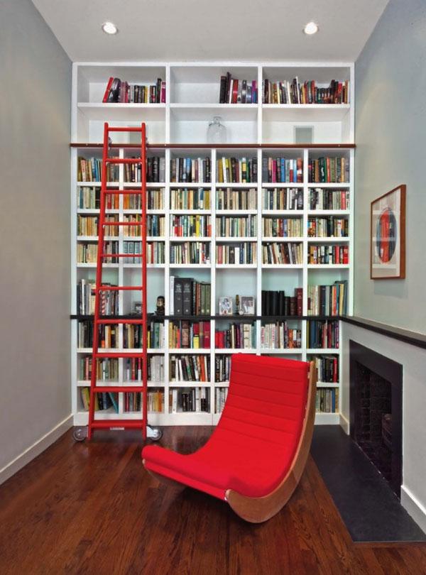 zparete libreria tutt'altezza