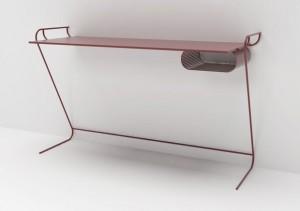 zzdesign minimal salone satellite office wall desk OWD dei designer eddie figueroa e giorgio bonaguro