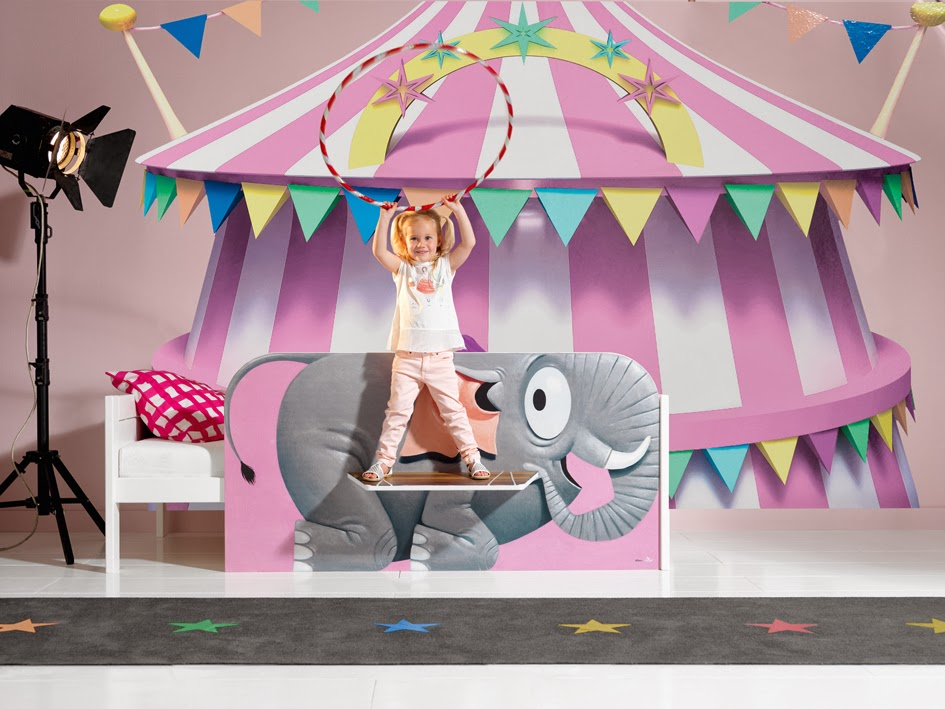 aaa cameretta circus
