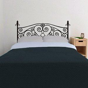 .amazon davvero carino lo stickers murale che raffigura una testiera el letto in ferro battuto con cuore di i FireWorkk