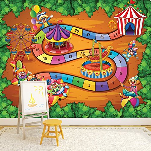 .amazon fun fair gioco da tavola iconwallsticher circo